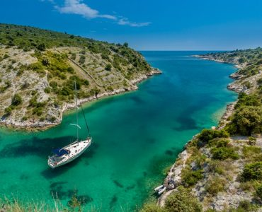 Continental Croatia is a land with blue river and lush green grass