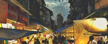 Kamathipura village in Mumbai crowded with shoppers